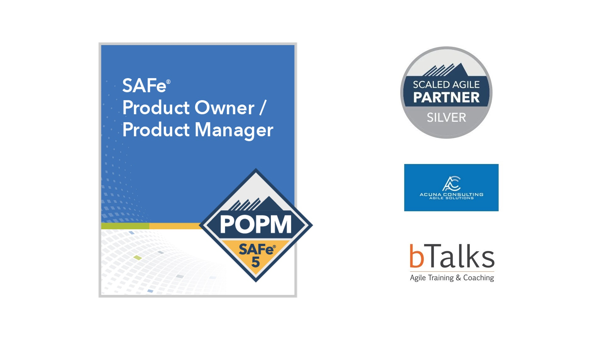 SAFe® Product Owner/ Product Manager